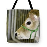 New To The Barn Tote Bag