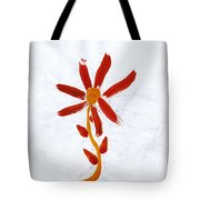 New World Flower Tote Bag