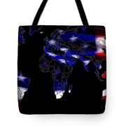 New World Map Tote Bag