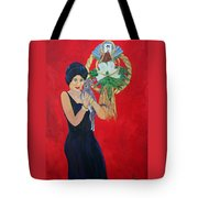 New Years Baby Tote Bag