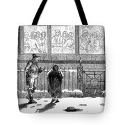 New Years Eve, 1859 Tote Bag