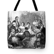 New Years Party, 1857 Tote Bag