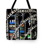 New York Abstract 1 Tote Bag