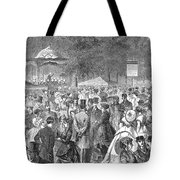 New York: Bandstand, 1869 Tote Bag