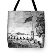New York: Battery, 1793 Tote Bag