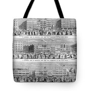 New York: Broadway, 1851 Tote Bag