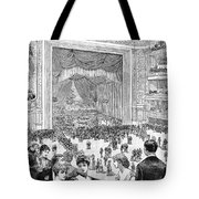 New York Charity Ball, 1884 Tote Bag