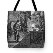 New York: Child Musician Tote Bag