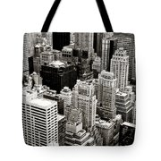 New York City From Above Tote Bag
