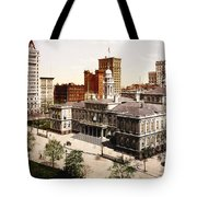 New York City Hall - 1900 Tote Bag