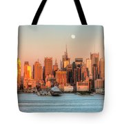 New York City Moonrise IIi Tote Bag