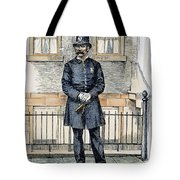 New York City Policeman Tote Bag