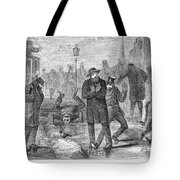 New York City: Winter Tote Bag