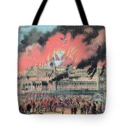 New York Crystal Palace Fire, 1858 Tote Bag by Photo Researchers