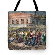 New York: Draft Riots 1863 Tote Bag
