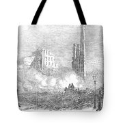 New York: Fire, 1853 Tote Bag