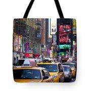 New York Gridlock Tote Bag