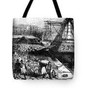 New York: Immigrants, 1854 Tote Bag