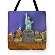 New York In Las Vegas Tote Bag