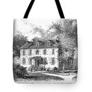 New York Mansion, 1748 Tote Bag