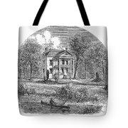 New York: Mansion, 1760 Tote Bag
