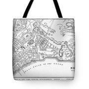 New York: Maps Tote Bag