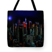 New York Midnight Tote Bag