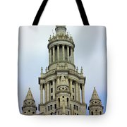 New York Municipal Building Tote Bag