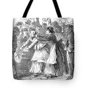 New York: Orange Riot Tote Bag
