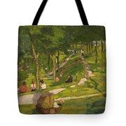 New York Park Tote Bag