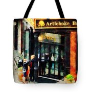 New York Pizzeria Tote Bag