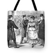 New York Police Raid, 1875 Tote Bag