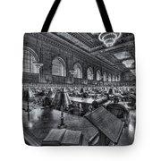 New York Public Library Main Reading Room Vi Tote Bag