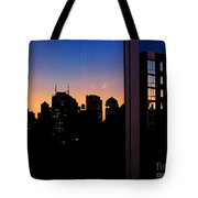 New York Reflections Tote Bag