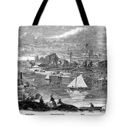 New York State: Hotel, 1862 Tote Bag