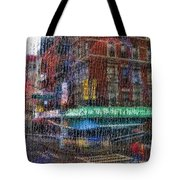 New York Street Tote Bag
