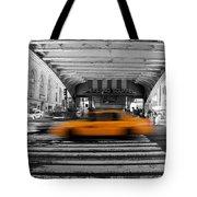 New York Taxi 1 Tote Bag