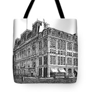 New York: Theater, 1869 Tote Bag