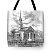 New York: Trinity Church Tote Bag