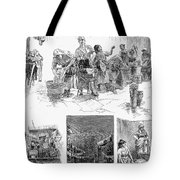 New York: Wash Day, 1889 Tote Bag