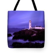 Newcastle, Co Down, Ireland Lighthouse Tote Bag