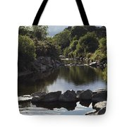 Newcastle, Shimna River, Co Down Tote Bag