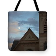 Newman United Methodist And Moon Tote Bag