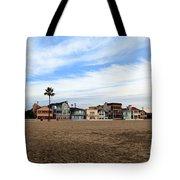 Newport Beach Oceanfront Houses Tote Bag