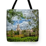 Newport Beach Temple Pine Tote Bag