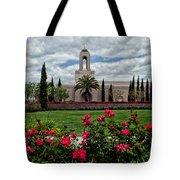 Newport Beach Temple Roses Tote Bag