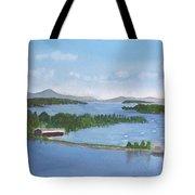 Newport Vermont Aerial Tote Bag