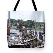 Newport Vermont Marina Tote Bag