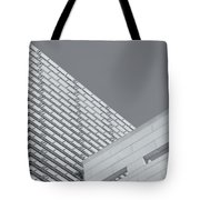 Newseum Contrasting Facades II Tote Bag