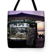 Newsstand In Croatia Tote Bag